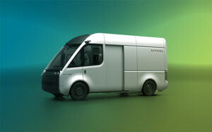 photo of arrival van