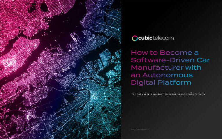 How to Become a Software-Driven Car Manufacturer with an Autonomous Digital Platform