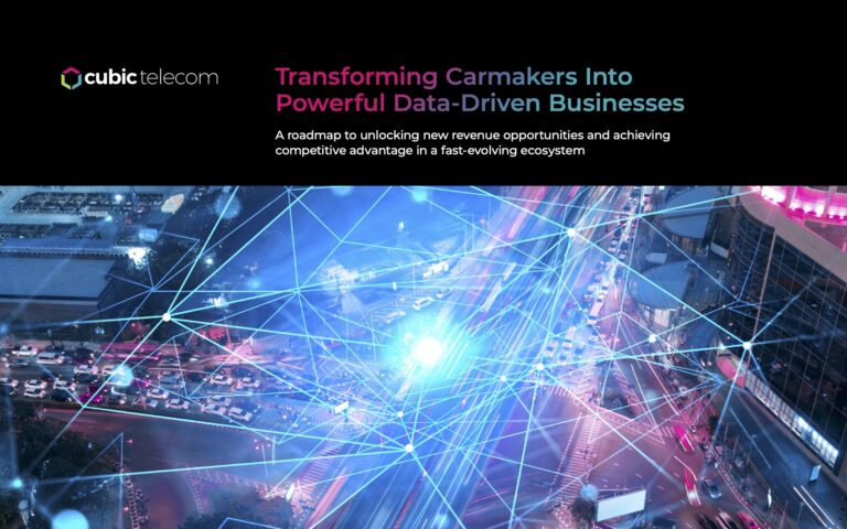 Transforming Carmakers Into Powerful Data-Driven Businesses