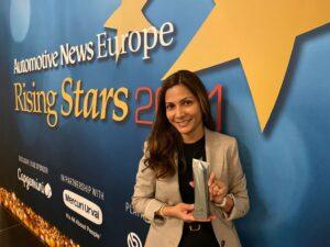 Automotive News Rising Start Award