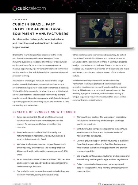 Cubic Telecom-Brazil-agriculture-datasheet-PDF-2021