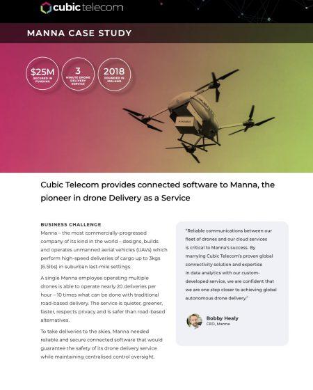 Cubic Telecom Case Study-Manna