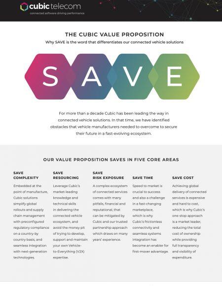 Cubic Telecom_SAVE Datasheet_PDF_ 2021